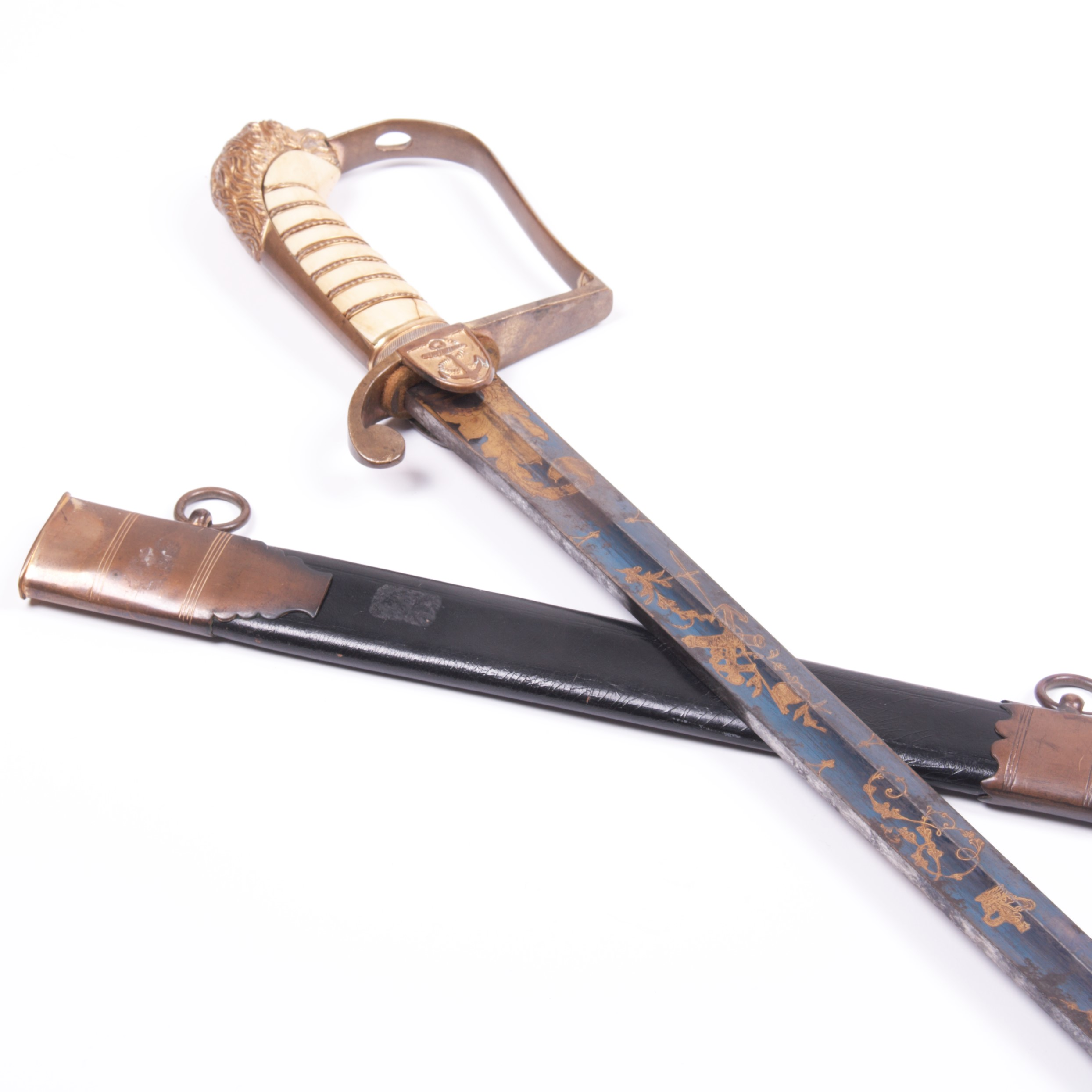 1805 English Napoleonic Navy Sword