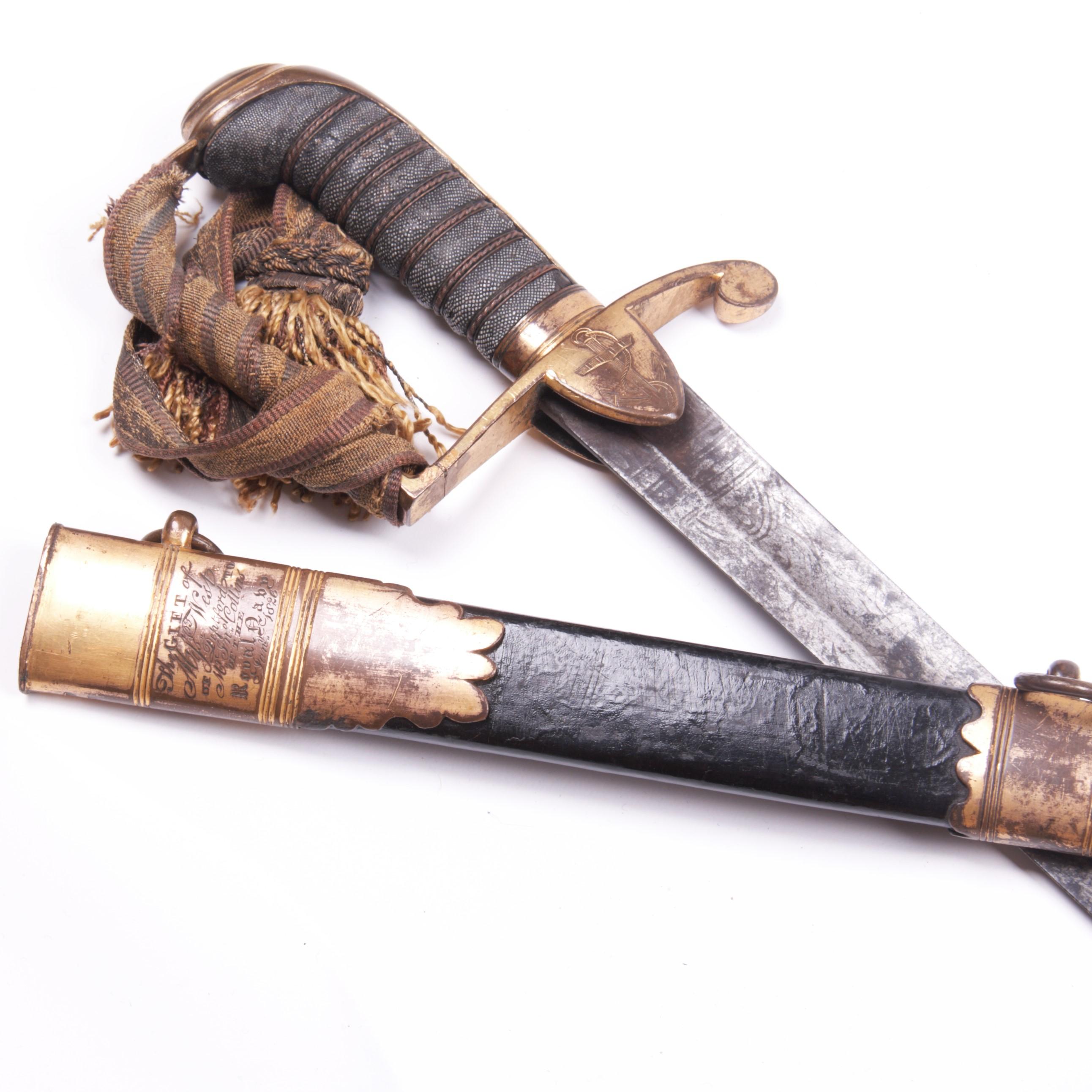 Georgian Royal Navy Sword