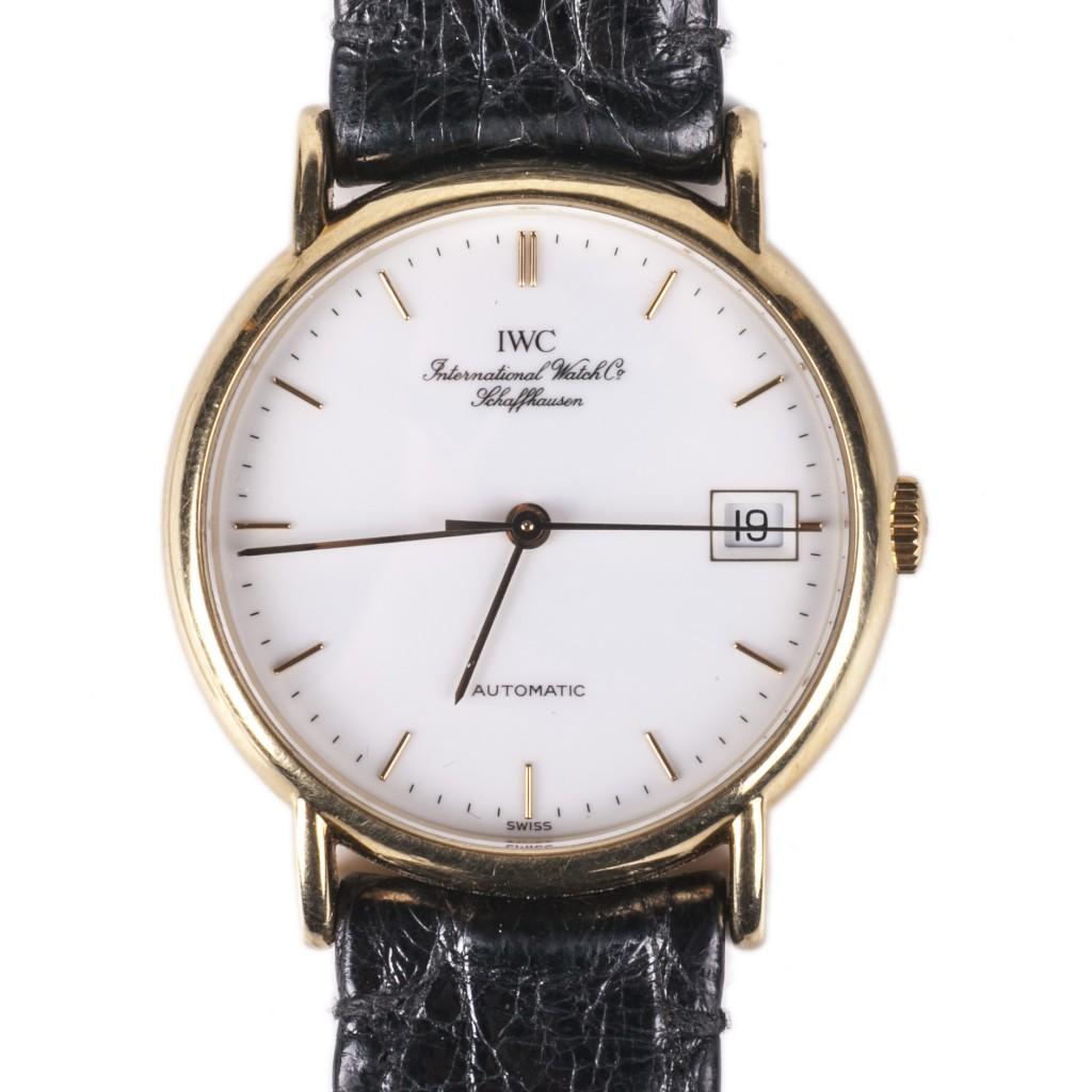 IWC 18K Gold Automatic Wrist Watch