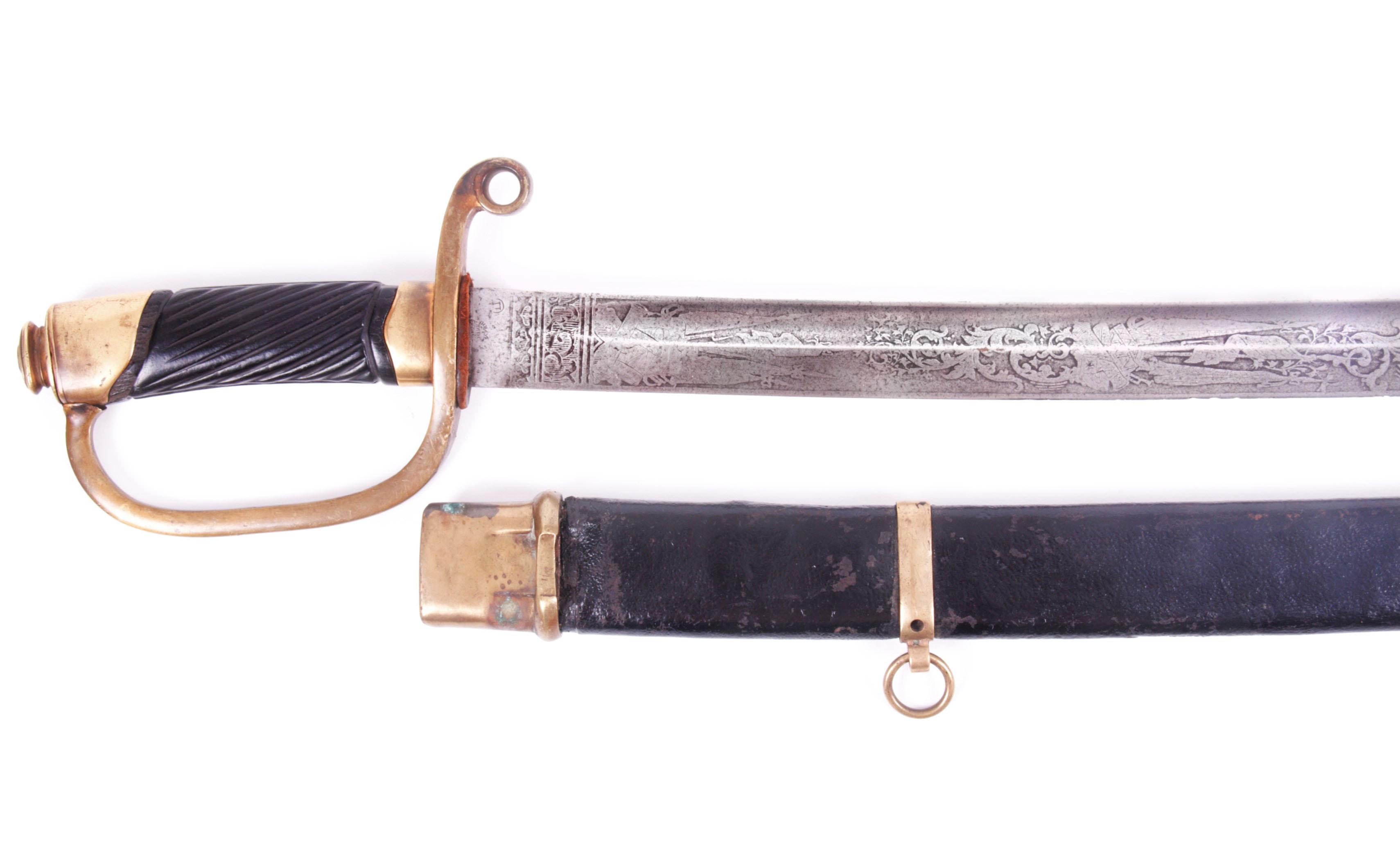 M-1881 Russian ragoon officer's shashka