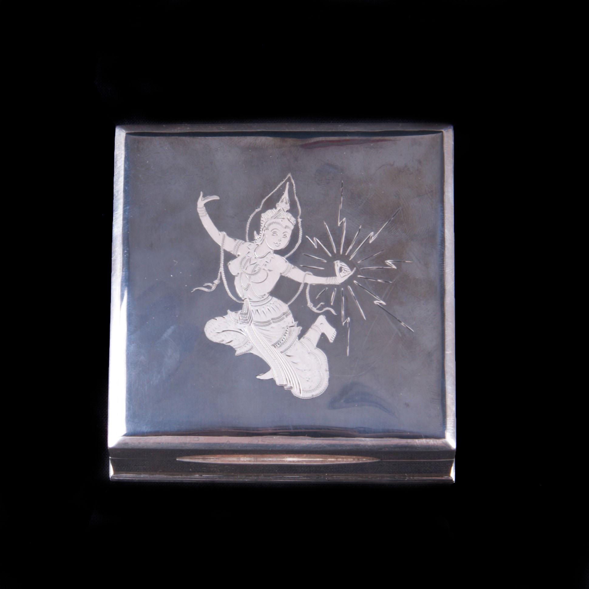 Siam sterling silver box