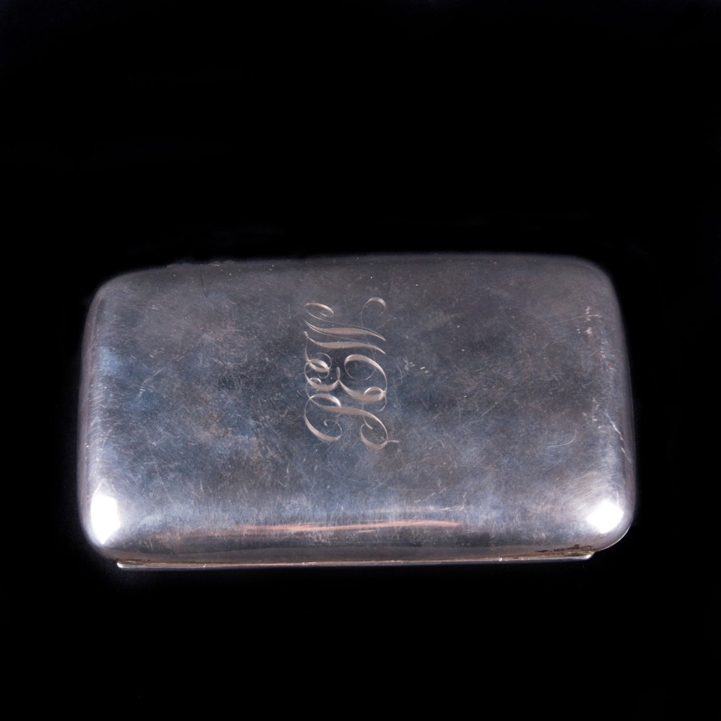 Vintage English Silver Cigarette Case