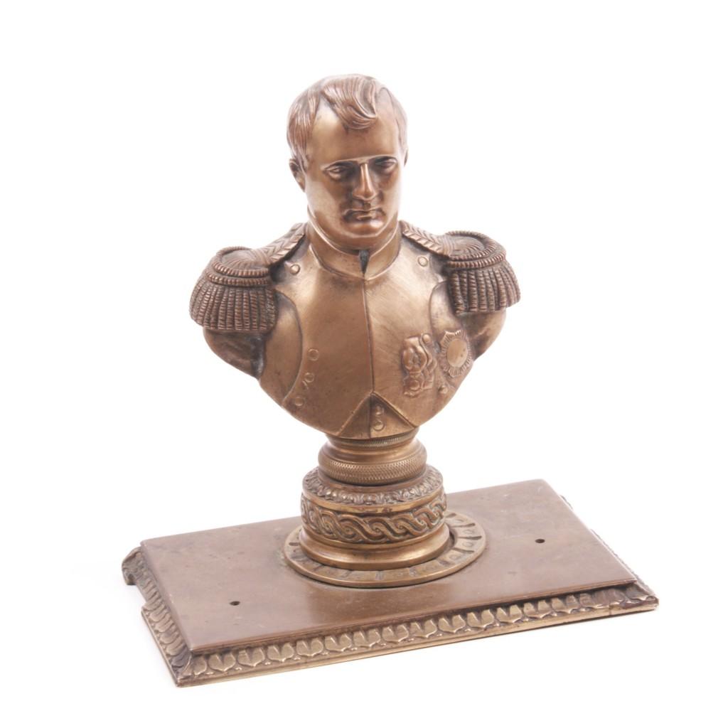 Napoleone bronze buste Chaudet