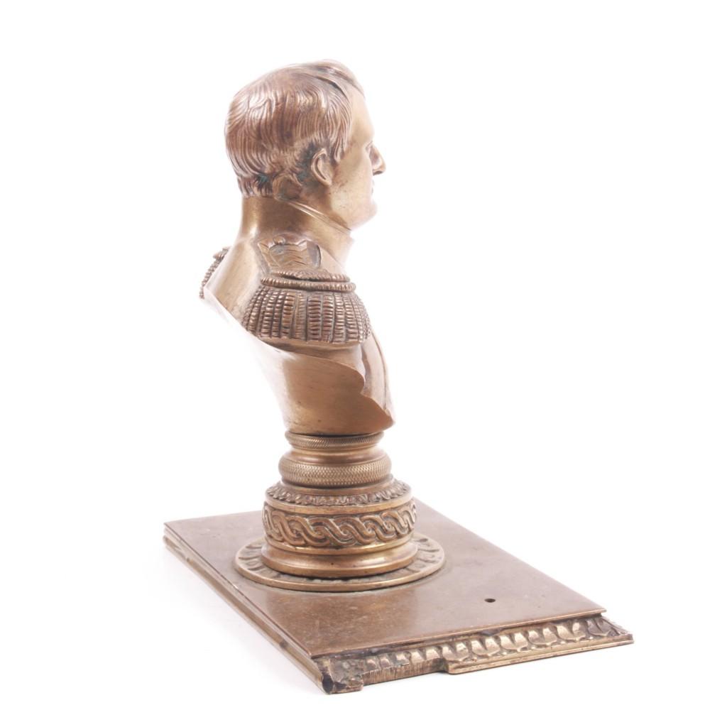 Napoleon bronze figure
