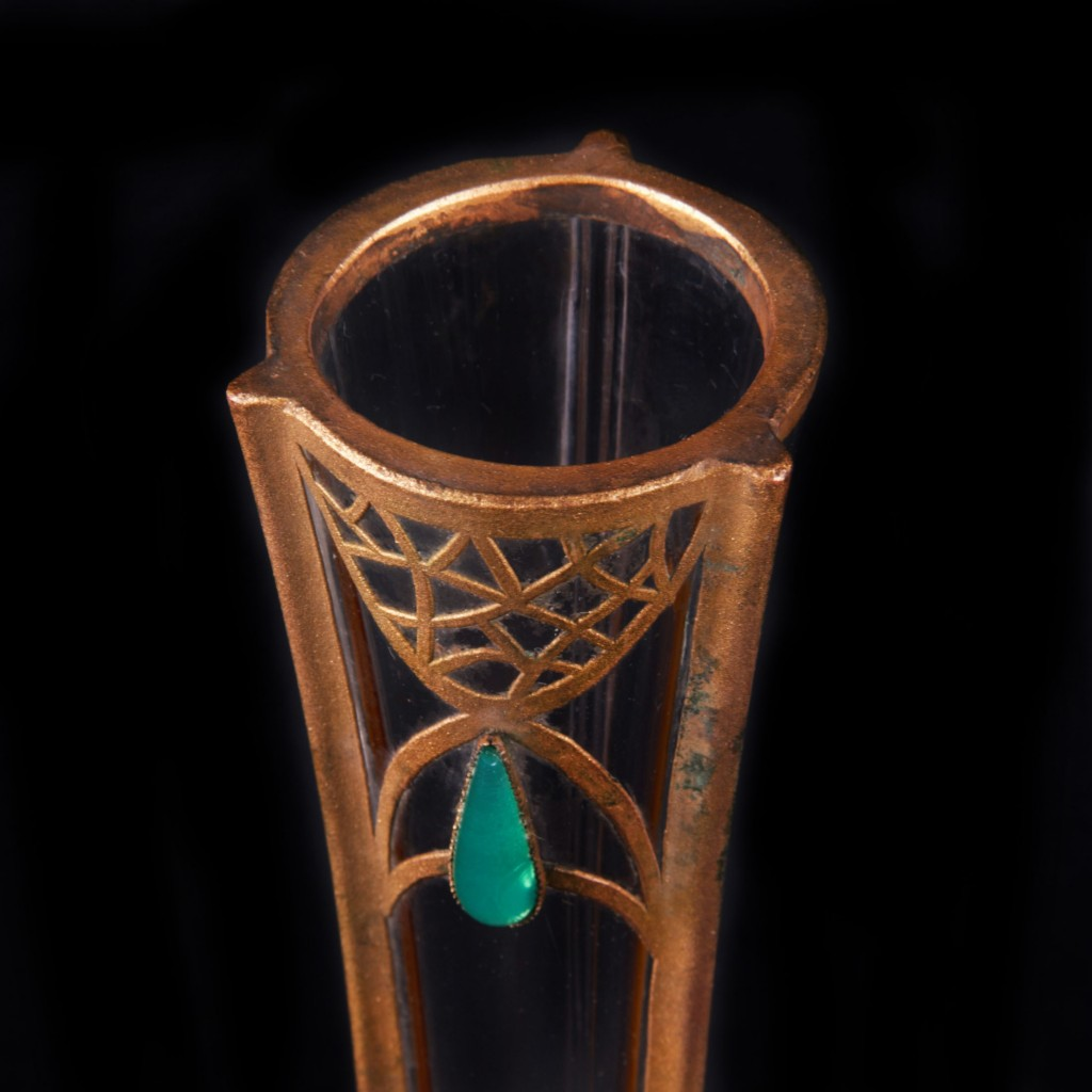 Beautiful Late Art Nouveau Glass Vase