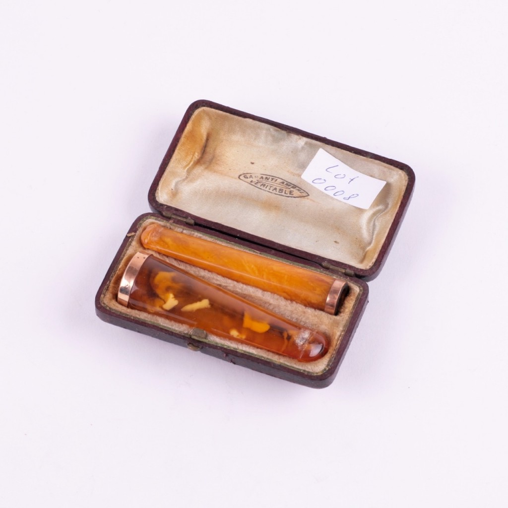 Antique Amber Mouthpiece