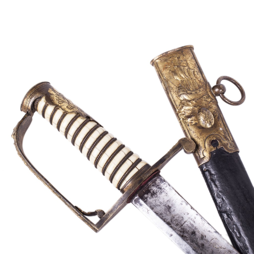 French Navy Sword Circa 1780-1790