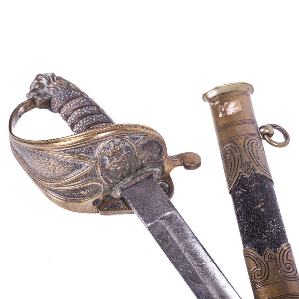 M-1827/46 Royal Navy Officer's Sword