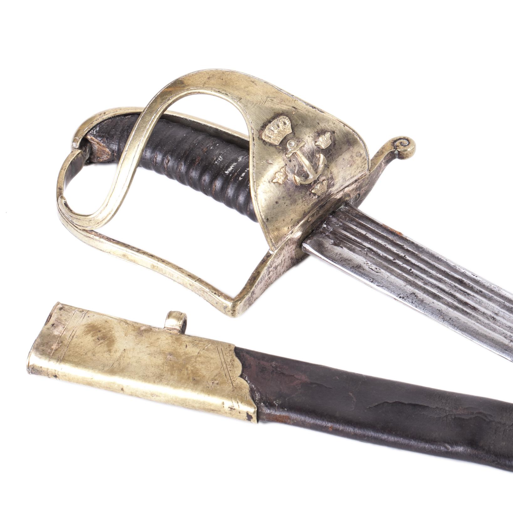 18th Century Swedish Navy Sword