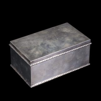 Antique French Silver Box