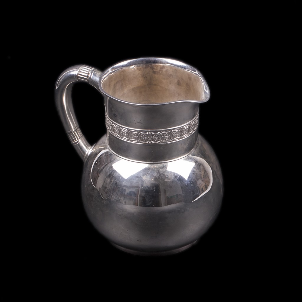 Antique Tiffany Silver Jug