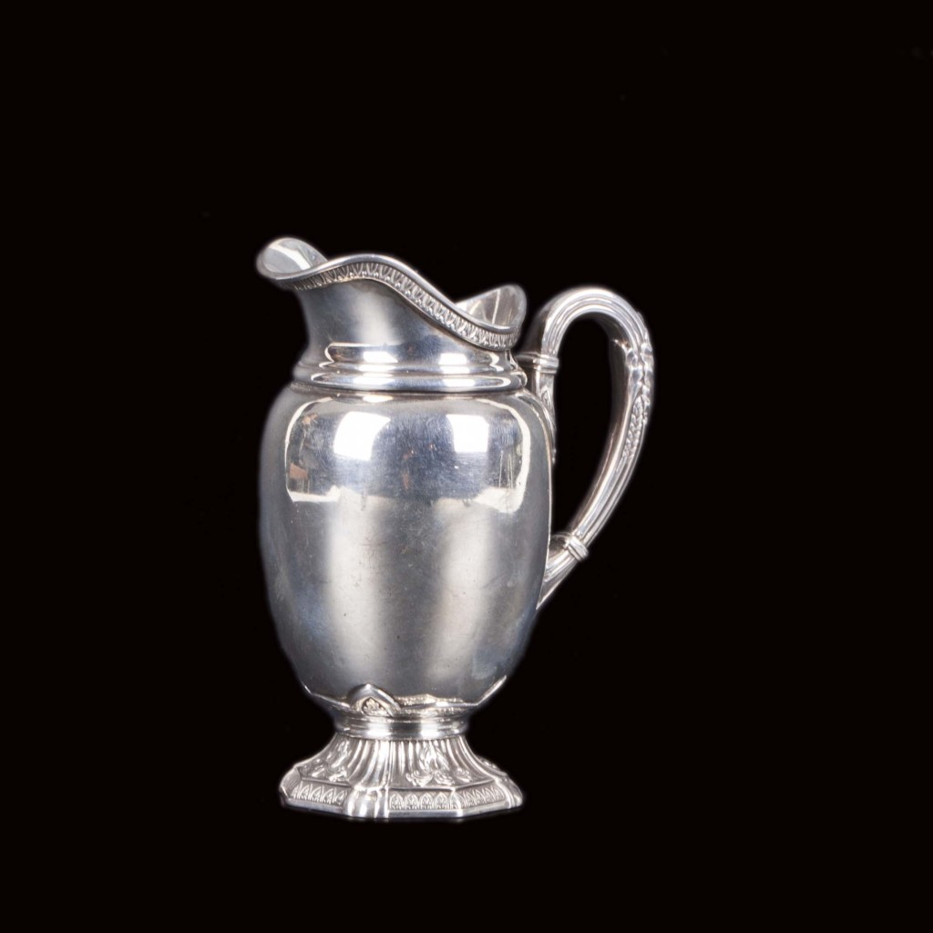 creamer Italy antique silver old