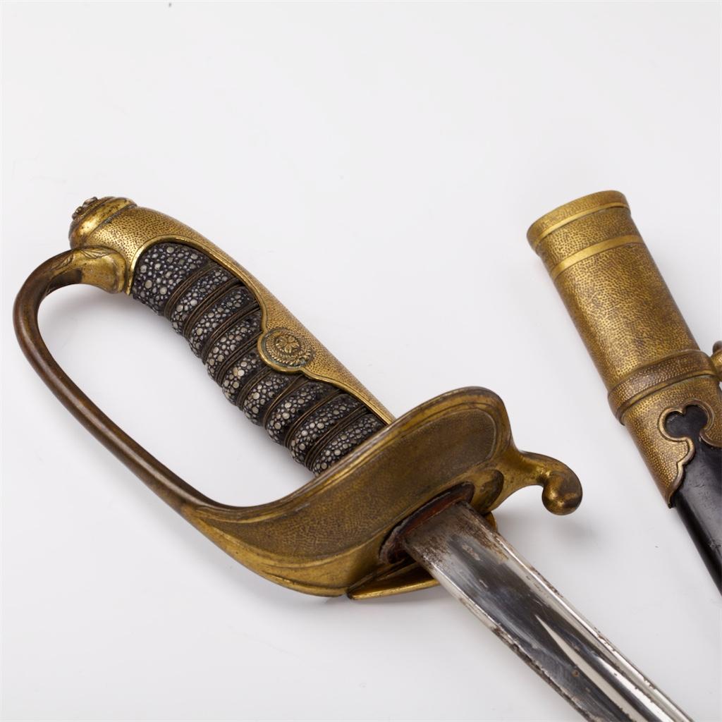 Japanese WW2 Nan'yo (South Seas) Colonial Sword