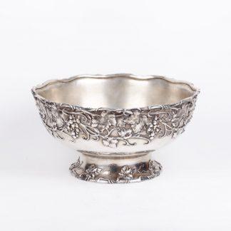 Massive American centerpiece bowl for champagne