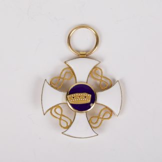 Order of The Crown of Italy Gold First Grade on TheBestAntique.com
