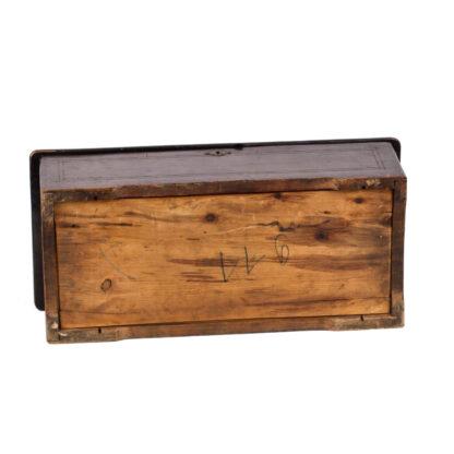 Antique Cylinder wooden music box 8 melodies