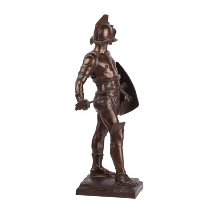 "Bronze sculpture ""Gladiator"""